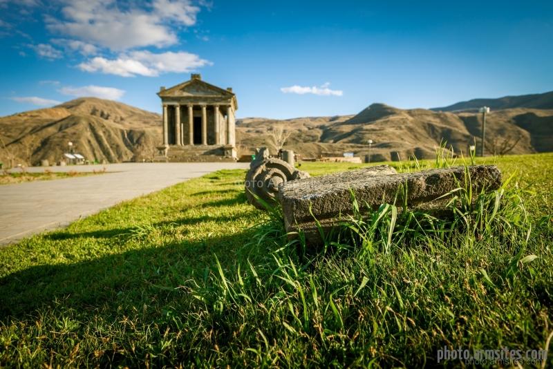 Garni temple, Autumn, Armenia
